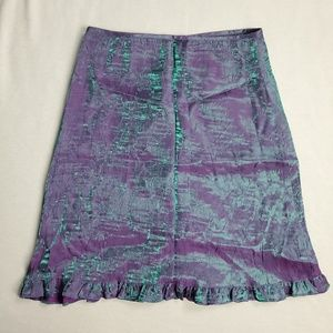 Vintage Jinelle Skirt Mermaid Effect Look Ruffle
